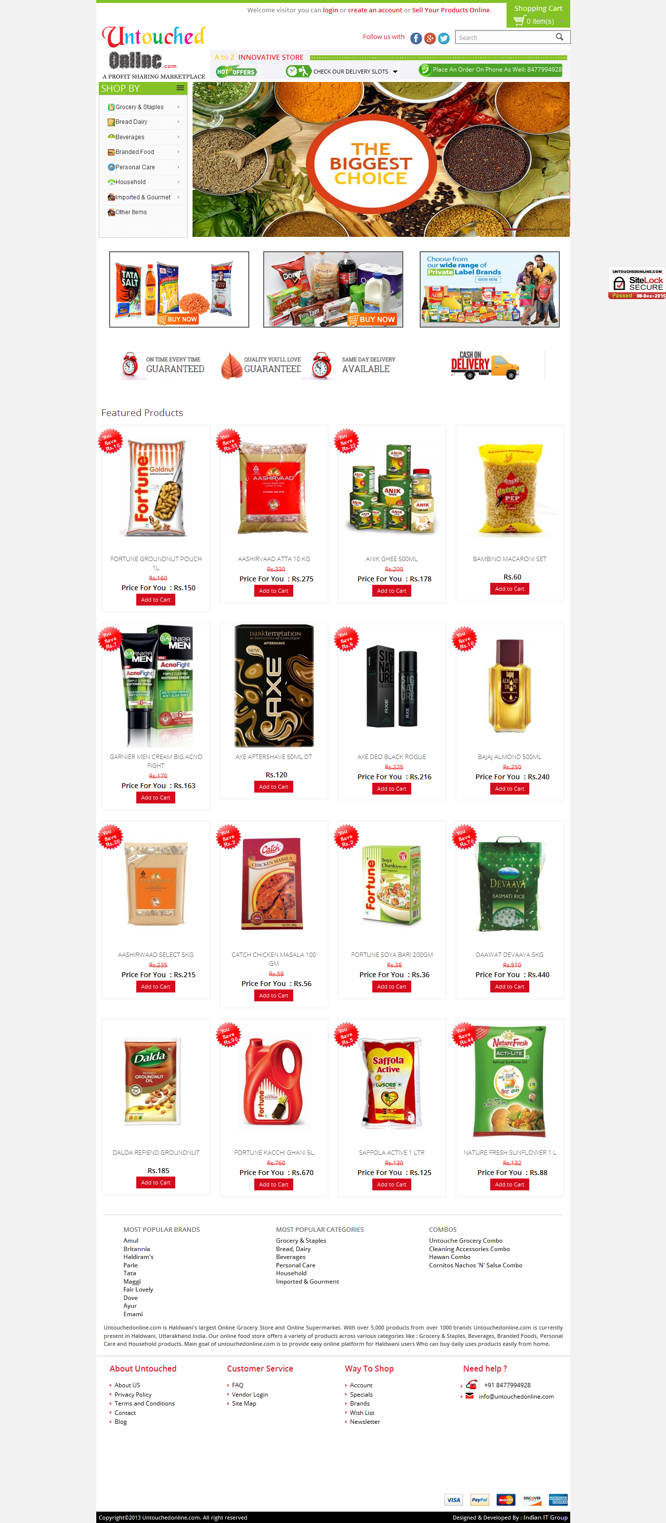 Untouchedonline Grocery